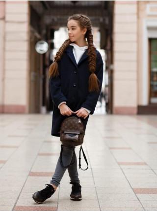 Весеннее кашемировое пальто для девочки