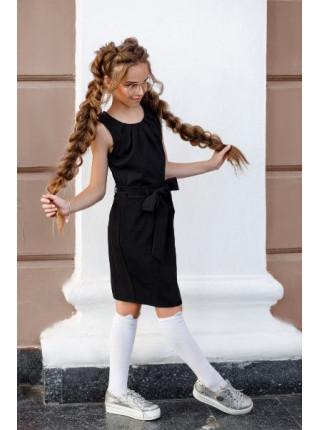 Красивий шкільний сарафан для дівчаток