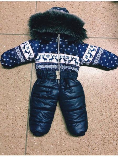 Зимний комбинезон для малыша