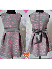 Красивое летнее платье для девочки