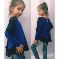 Нарядна дитяча кофта з блузкою