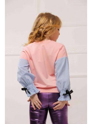 Модный детский джемпер на девочку