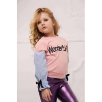 Модний дитячий джемпер на дівчинку