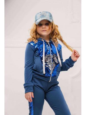 Дитячий спортивний костюм для дівчинки