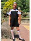 Красивое школьное платье для девочки