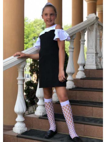Красиве шкільне плаття для дівчинки