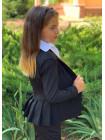 Піджак з баскою для дівчинки