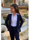 Пиджак с баской для девочки