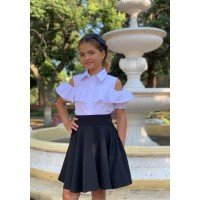 Детская юбка солнце для девочки