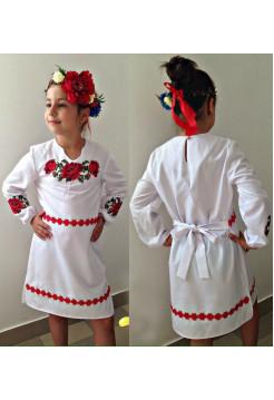 Вишиванка плаття дитяче з довгим рукавом