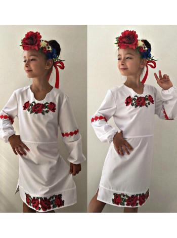 Детское платье вышиванка на девочку
