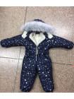 Дитячий зимовий комбінезон на хутрі