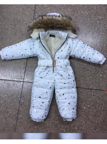Детский зимний комбинезон на меху