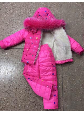 Костюм дитячий зимовий для дівчинки