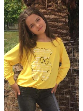 Дитячий яскравий світшот для дівчинки