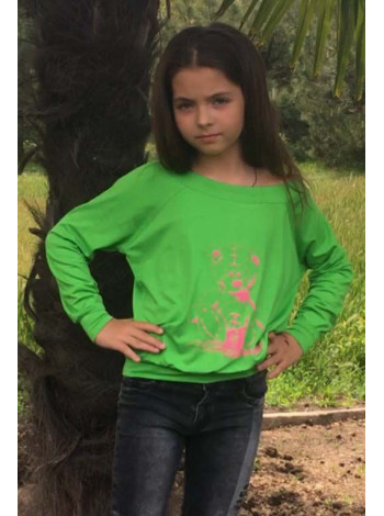 Модный детский свитшот для девочки