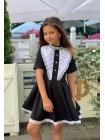 Детское школьное платье с пышной юбкой
