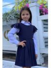 Шкільний сарафан для дівчинки