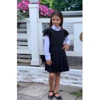Школьный сарафан для девочки