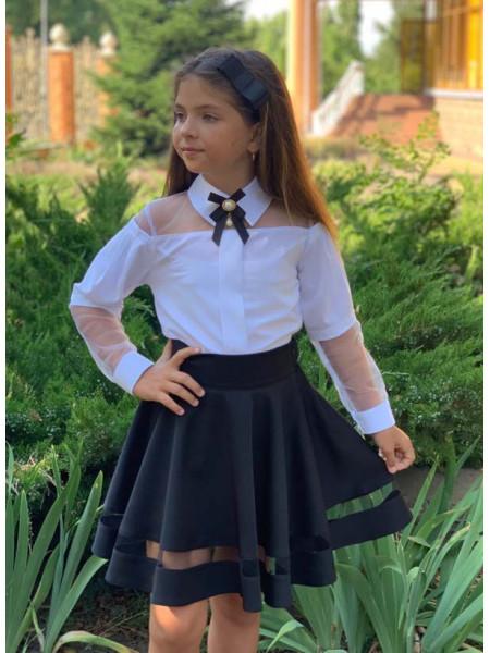 Шкільна спідниця в складку