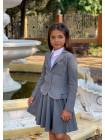 Пиджак для девочки в школу