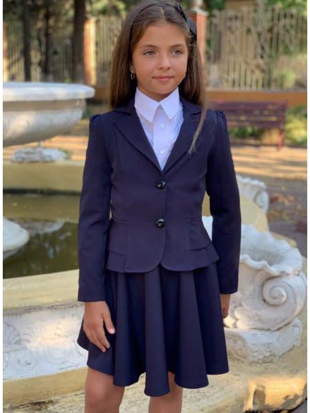 Піджак для дівчинки в школу