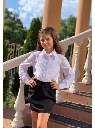 Коротка шкільна спідниця для дівчинки