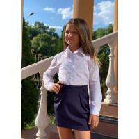 Короткая школьная юбка для девочки
