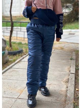 Зимние штаны для девочки подростка