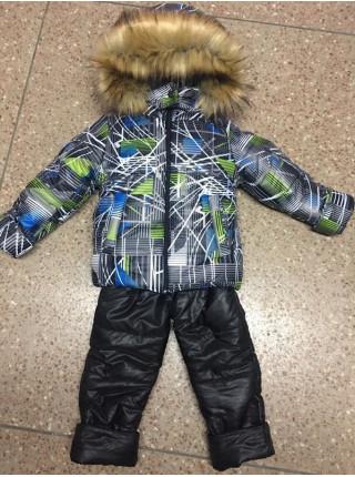 Дитячий зимовий костюм для хлопчика