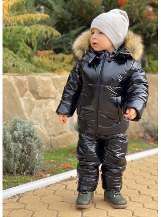 Детский зимний костюм для девочки на меху