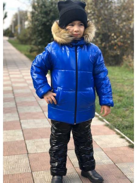 Детский зимний костюм для мальчика на меху