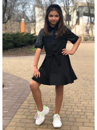 Платье рубашка для девочки