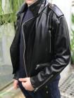 Кожаная куртка косуха для мальчика
