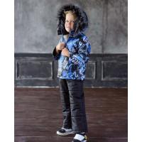 Зимовий дитячий костюм із комбінезоном для хлопчика
