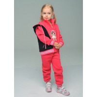 Теплий дитячий спортивний костюм трійка