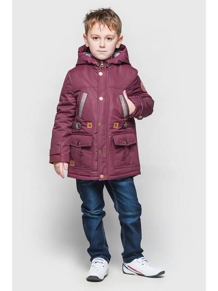 Демисезонная куртка парка для мальчика