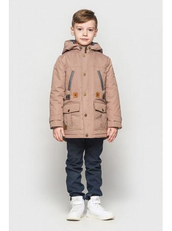Весенняя куртка парка для школьника