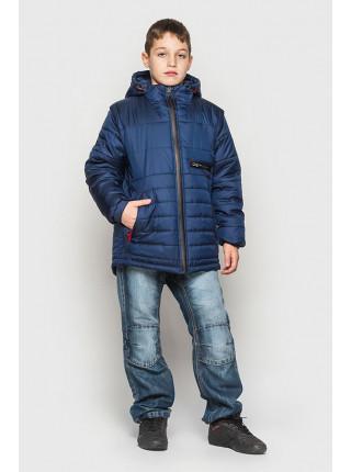 Демисезонная куртка для подростка со съемными рукавами