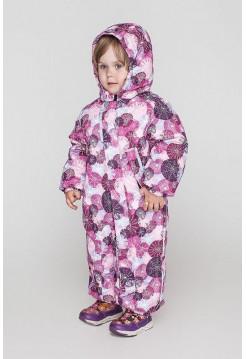 Зимний модный комбинезон для девочки