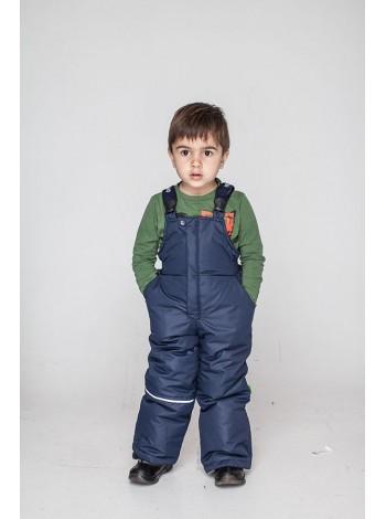 Зимний детский полукомбинезон штаны для мальчика