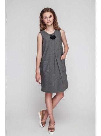 Шкільний модний сарафан для підлітків