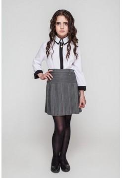 Шкільна юбка в дрібну складку