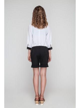 Школьные шорты для девочки