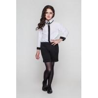 Шкільні шорти для дівчинки