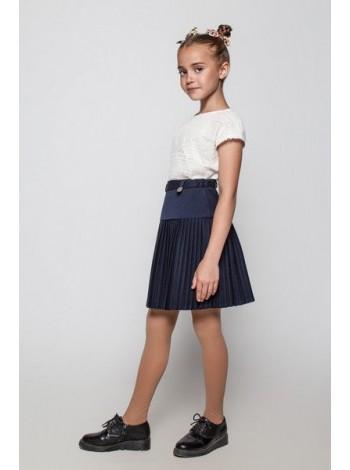 Шкільна юбка плісе