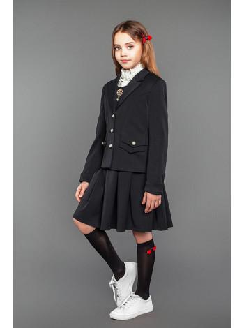 Модний шкільний піджак на дівчинку