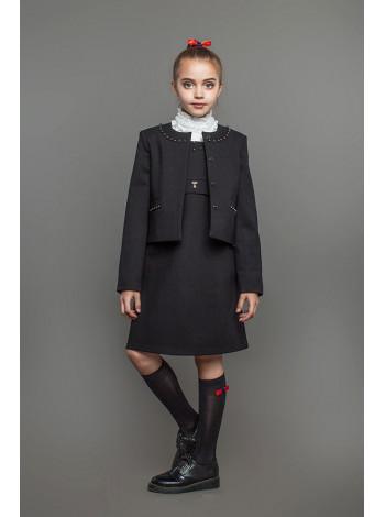 Красивый школьный пиджак для девочки