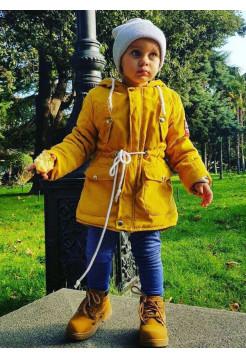 Яркая детская парка унисекс