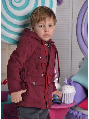 Модная парка для мальчика